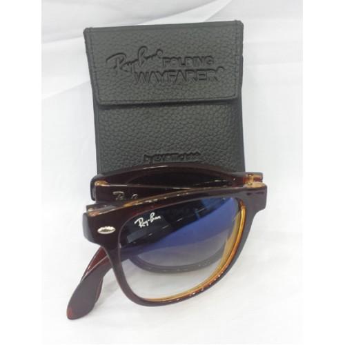 745526e001a1b Rayban Folding Wayfarer Sunglasses for Men